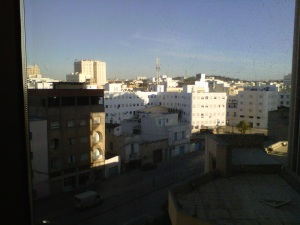 Good morning downtown Tunis