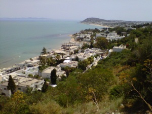La Marsa from Gammarth hills. Are you coming to visit?